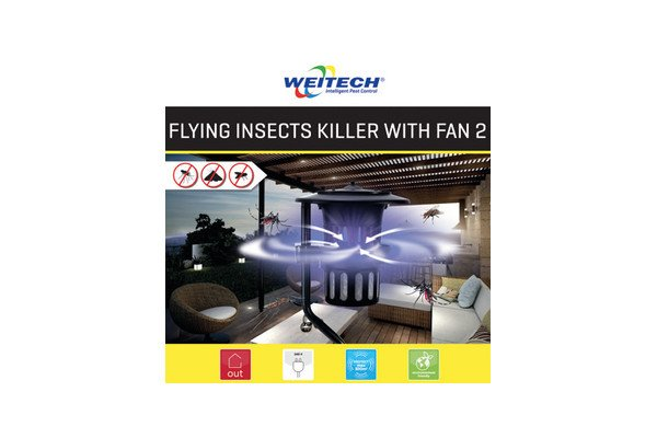 WEITECH WK0125 - Flying Insects Killer With Fan 2