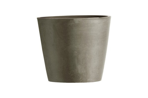 ECOPOTS AMSTERDAM MINI ROND TAUPE 10,5 x 9,2cm