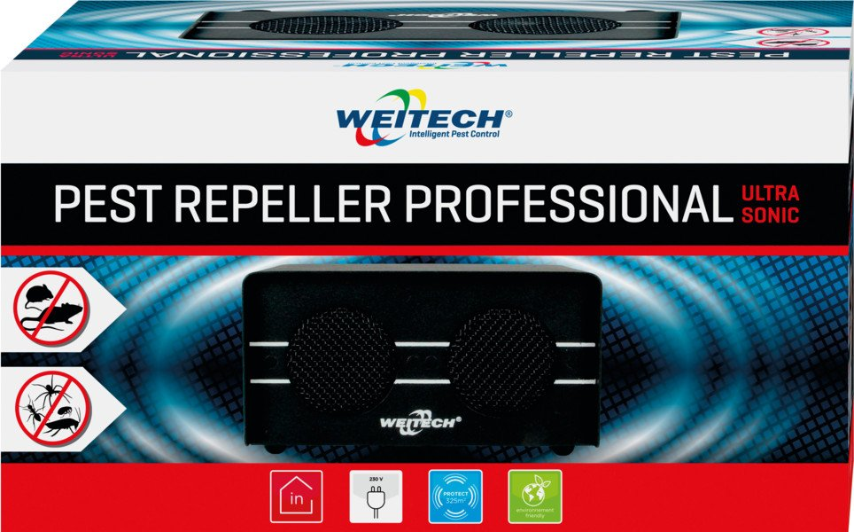 WEITECH WK0600 - Pest Repeller Professional 325m²