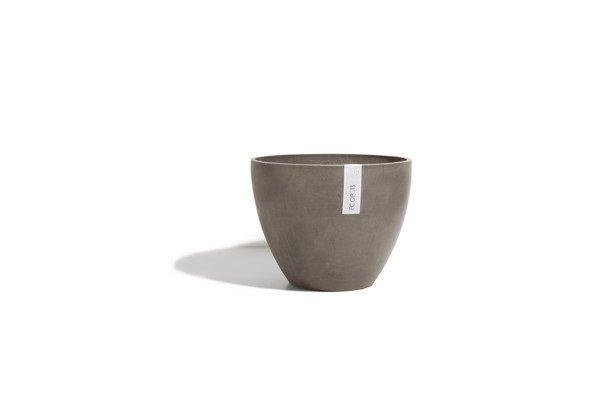 ECOPOTS ANTWERP ROND EGG TAUPE 40 x 31cm