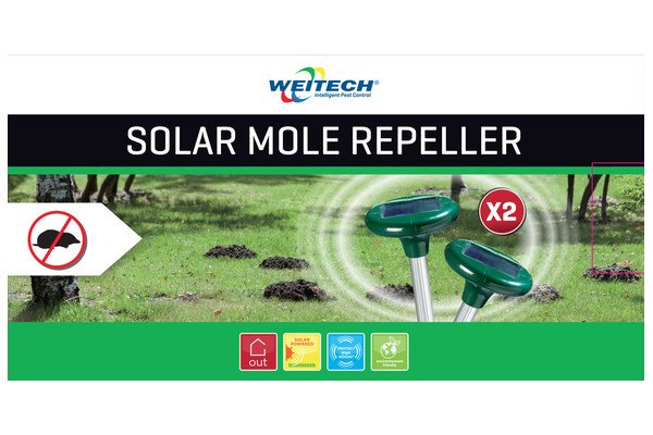 WEITECH WK2015 - Chasse-Taupes mini (2x) solar