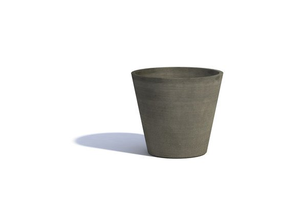 ECOPOTS AMSTERDAM ROND TAUPE 40 x 36cm